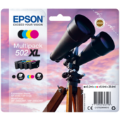 Cartridge Epson 502XL, C13T02W64010 - oryginalny (Multipack)