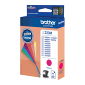 Cartridge Brother LC223M, LC-223M, LC223 - oryginalny (Magenta)