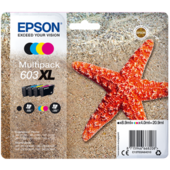 Cartridge Epson 603XL, C13T03A64010 - oryginalny (Multipack CMYK)