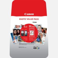 Cartridge Canon PG-560XL, CL-561XL, 3712C004 + 50 x Photo Paper GP-501 - oryginalny (Multipack Czarny/Kolor)