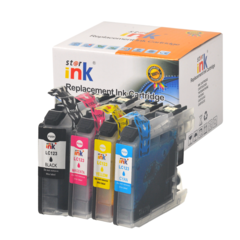 Starink kompatybilny cartridge Brother LC123, LC123VALBP (Multipack CMYK)